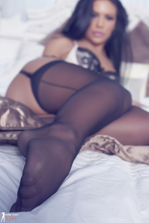 The Perfect Hosiery Poser